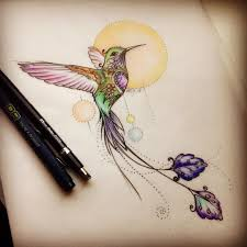 tattoos of symbols hummingbird tattoos mostly represent overcoming a difficulty