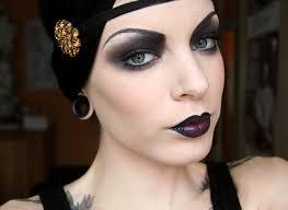 flapper makeup y vine makeup flapper gothic costume ideas
