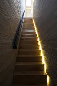 stair design idea include hidden lights to guide you at night