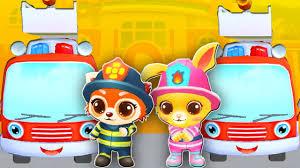 fire truck cartoon 20 min fire truck kids cartoons