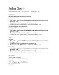 Premade Resume Templates Perfect Resume Template Best Photos Of Free Download Microsoft