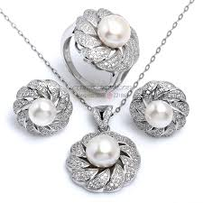 aliexpress necklace set images Bulk order luxury design bridal jewelry sets for women 100 jpg