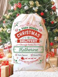 personalized santa sack santa sacks lmt creative