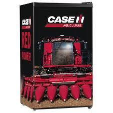 cube case ih combine red power refrigerator