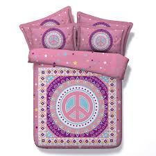 Girls Peace Sign Bedding by Compare Prices On Pink Beddings Online Shopping Buy Low Price