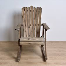 outdoor furniture rocking chair wood 4 colors american country