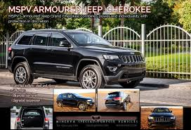 tactical jeep grand cherokee mspv armoured vehicles bulletproof cars armoured personnel