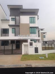 3 storey corner house for rent in zircona ttdi alam impian semi