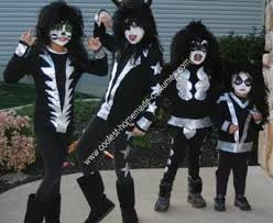 Halloween Costumes Ten Boys 10 Kiss Costume Ideas Kiss Halloween Costumes