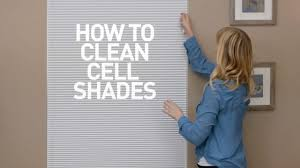 How To Clean Blackout Blinds Tips For Cleaning Honeycomb Cell Shades From Blinds Com Youtube