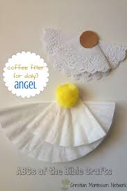 a is for angel bible craft