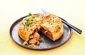 cuisiner des rognons tourte feuilletée de rognons blancs aux chignons recettes de