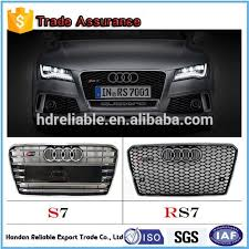 audi rs7 front 2011 2015 for audi a7 grille rs7 front bumper grille a7 upgrade