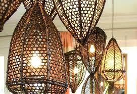 Pendant Fishing Light Basket Light Fixture Tucker Fishing Basket L A Green Design