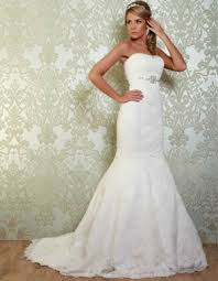 fishtail wedding dress fit and flare wedding dresses