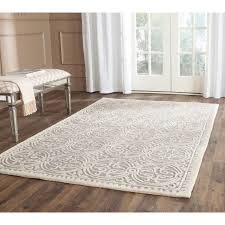 Safavieh Rugs Overstock by Safavieh Handmade Cambridge Moroccan Silver Ivory Rug 8 U0027 Square