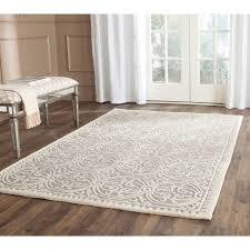 safavieh handmade cambridge moroccan silver ivory rug 8 u0027 square