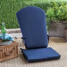 Chair Seat Cushions Polywood Sunbrella 17 X 20 In South Beach Chair Seat Cushion