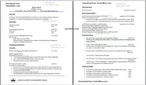 extra curricular activities in resume sample example