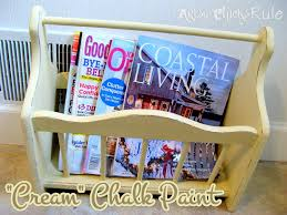 annie sloan chalk paint not just for furniture artsy magazine rack thrifty find chalk painted artsy chicks rule annie sloan