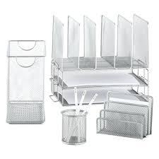 acrylic desk organizers acrylic desk organizer set clear acrylic desktop organizer