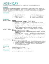 sample resume manager doc 8001035 marketing sample resumes marketing resume examples doc