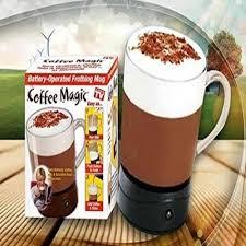 Coffee Magic self stirring magic mug transparent glass coffee maker at rs 249