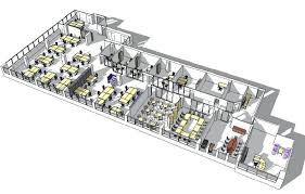 small office layout plan space planning design drawings templates