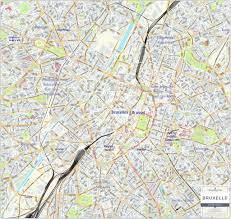 map brussels brussels city map laminated wall map map marketing