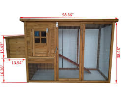 amazon com exacme 6010 0709 lovupet deluxe wooden chicken coop