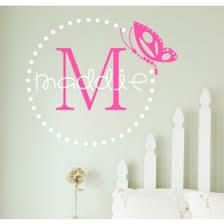 personalized name name wall decals personalized wall stickers rosenberry rooms