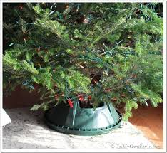 metal christmas tree skirt in my own style