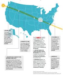 Kentucky Time Zone Map by Total Eclipse Of Sun August 21 2017 Astronomy Essentials
