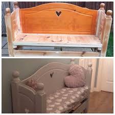 Bench Made From Bed Headboard Best 25 Pine Headboards Ideas On Pinterest Bed Designs With