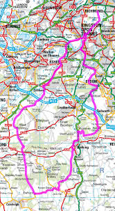 Surrey England Map by Serpentine Running Club Triathlon The Surrey Hills 98k