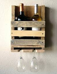 Diy Wood Wine Rack Plans by Diy Wine Glass Rack Shelf Reclaimed Wood Wine Rack And Glass