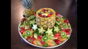 creative fruit tray decoration ideas youtube