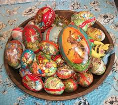 german paper mache easter eggs 184 best antique easter papermache eggs images on