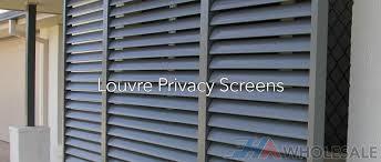 Privacy Screens Louvre Aluminium Privacy Screens U2014 Fha Wholesale