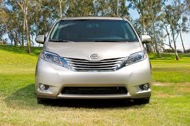2015 minivan 2015 toyota sienna gets fresh coat of swag
