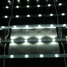 rigid led strip lights no spots flexible led curtain lattice matrix grid for light