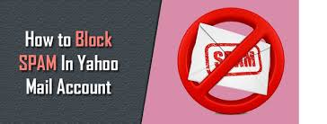 yahoo email junk mail how to block spam on yahoo mail stop junk mails in yahoo
