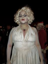 Marilyn Monroe Halloween Costume Ideas Dead Marilyn Monroe Halloween Costume Photo Album Woman Left