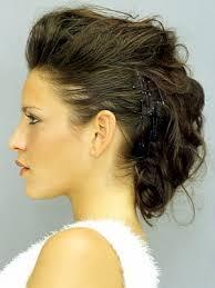 Hochsteckfrisurenen Glatt by Wuschelig Hinten Glatt An Der Seite Hair Glatt