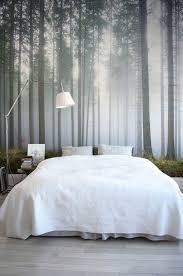 wandtapete schlafzimmer die besten 25 wald tapete ideen auf wald schlafzimmer