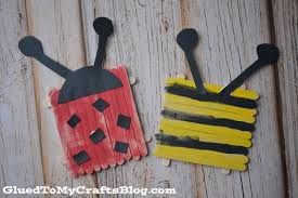 popsicle stick bugs kid craft