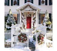 pottery barn christmas garland make your own for less