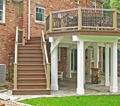 modern brick house modern brick wall exterior design can be decor with elevated deck