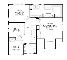 craftsman floor plan craftsman style house plan 3 beds 2 5 baths 2936 sq ft plan 48