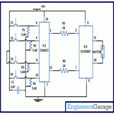 curtain opener circuit diagram